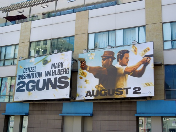2 Guns billboards