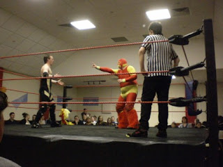 Power Trip Wrestling match in Luton