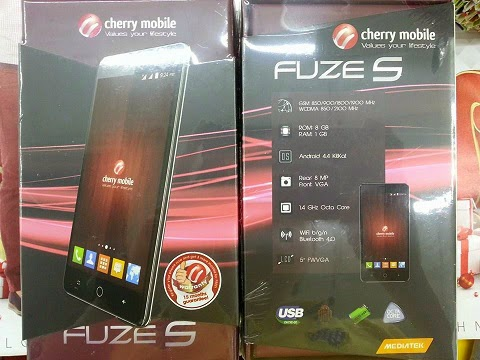 Cherry Mobile Fuze S: Specs, Price and Availability