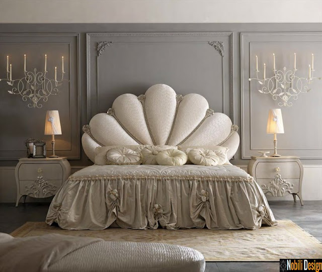 Mobila italiana clasica - Mobilier dormitor clasic | Paturi tapitate Italia