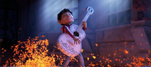 Miguel, héros de Coco, des studios Disney-Pixar (Copyright : © 2017  Disney/Pixar)