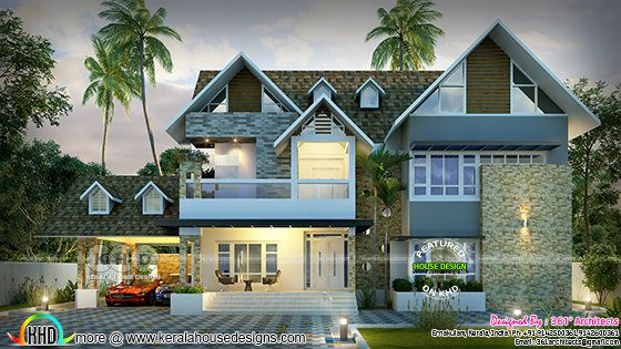 Awesome european model 5 bedroom home