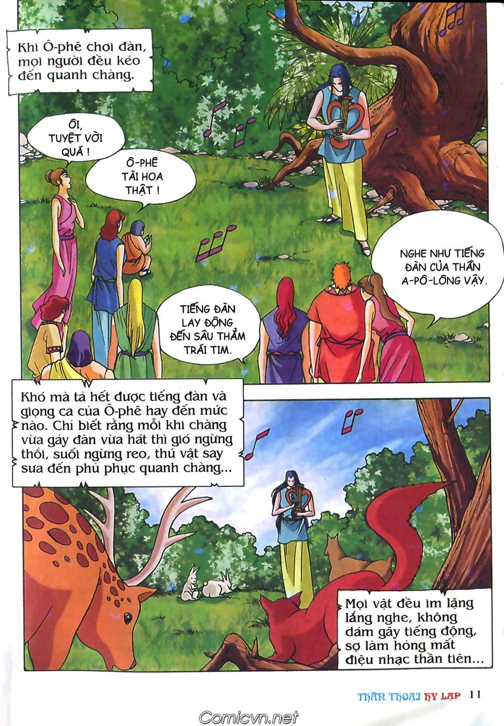 Thần Thoại Hy Lạp Màu - Chapter 40: Chuyện tình buồn của chàng Ô phê - Pic 11