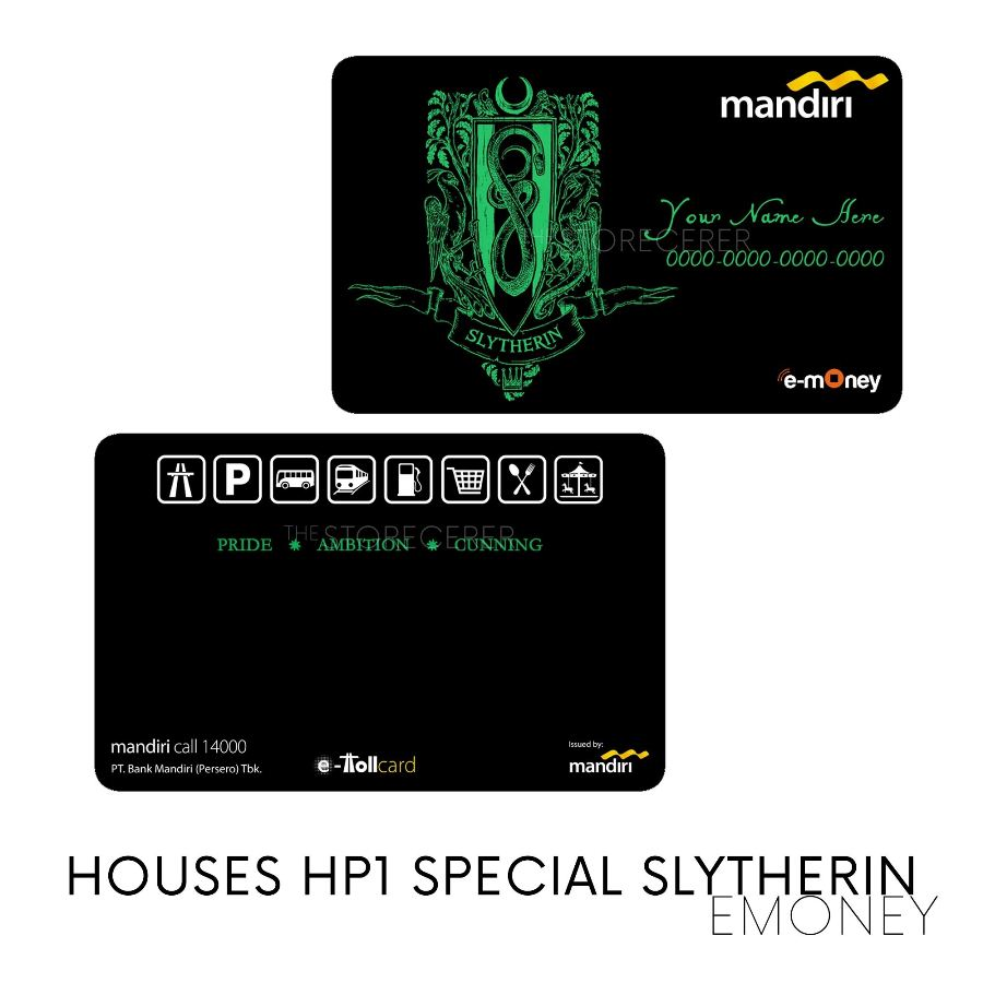 E-Money Slytherin Special Edition