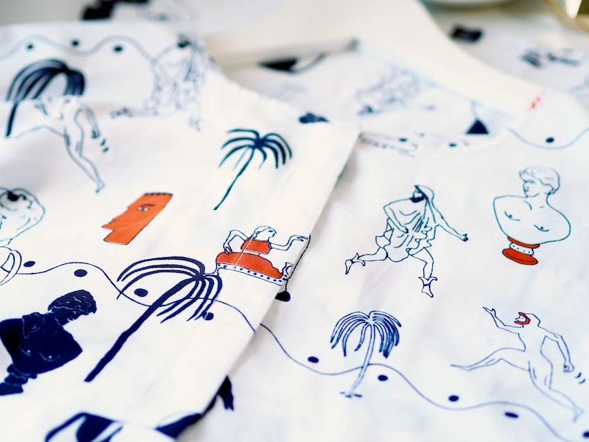 monki print dress