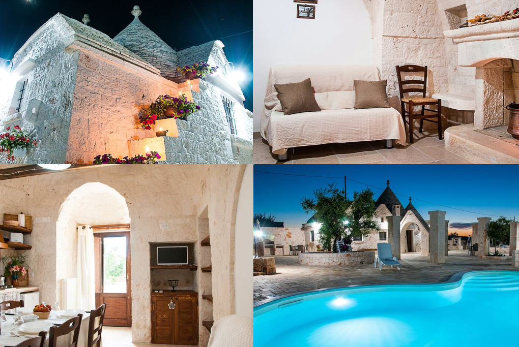 stunning white walled home in italy with a pool,  from www.calmctravels, CalMcTravel