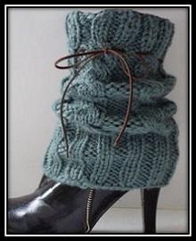 stilnie getri na obuv spicami