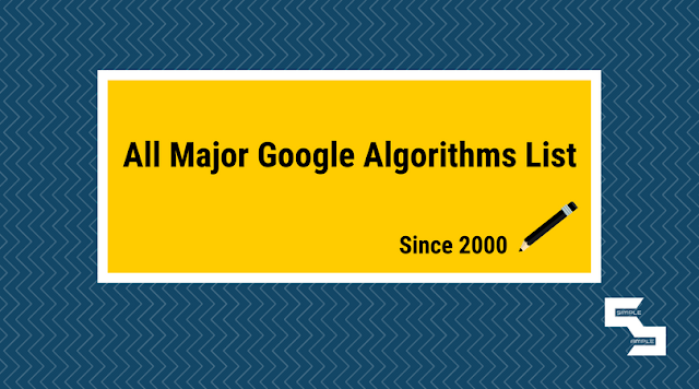 Major Google Algorithm Updates Since 2000