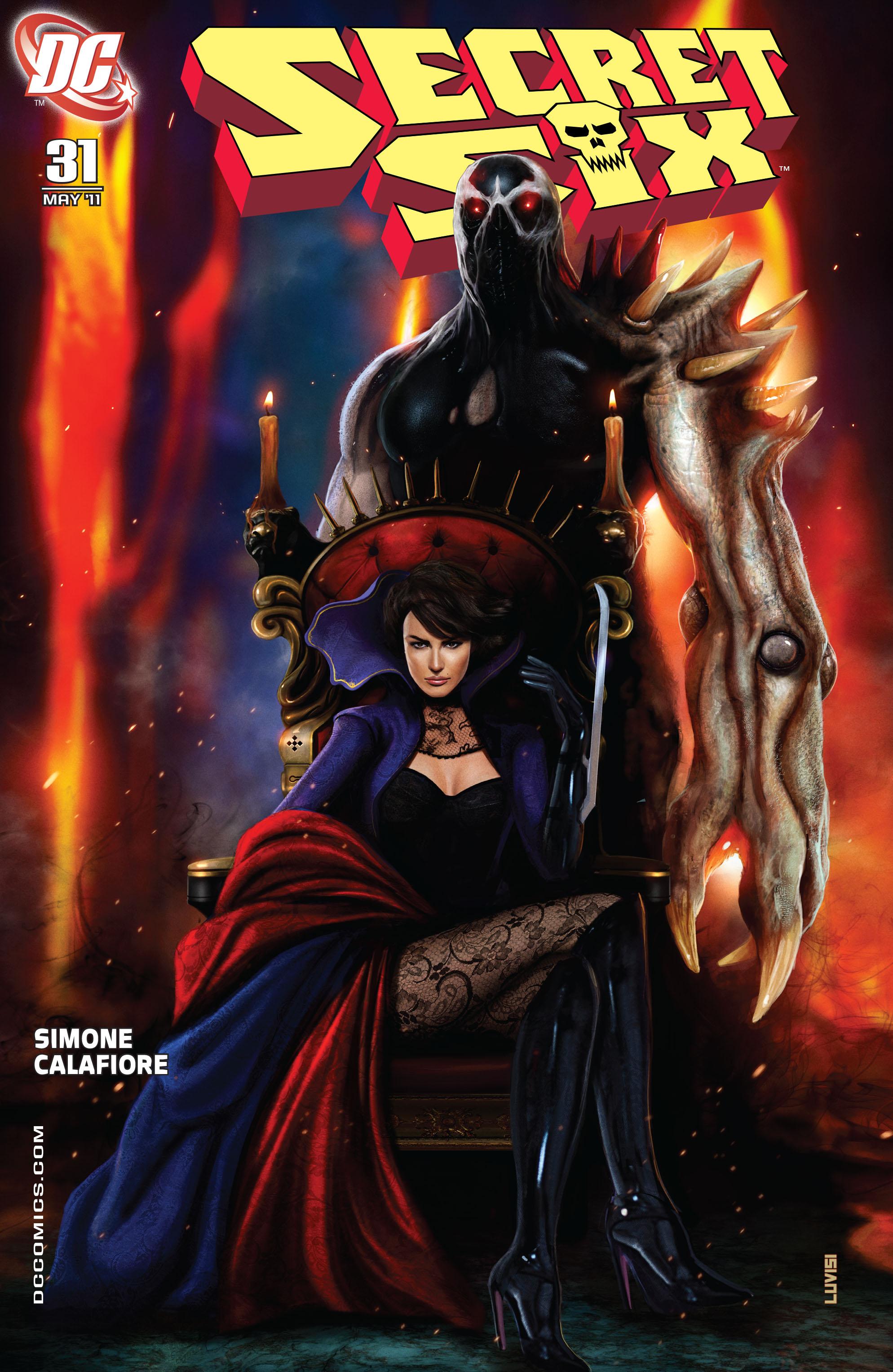 Read online Secret Six (2008) comic -  Issue #31 - 1