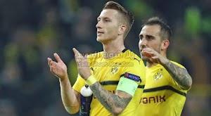 بوروسيا دورتموند ينجو من الخساره امام فريق  بادربورن بالتعادل الاجابي بثلاث اهداف في الدوري الالماني