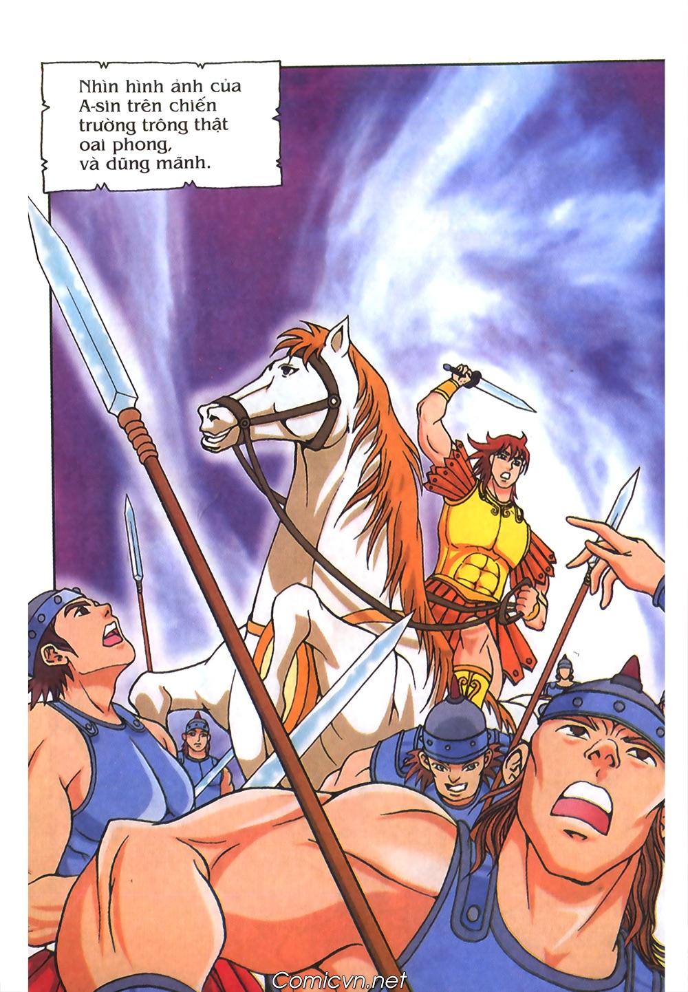 Thần Thoại Hy Lạp Màu - Chapter 55: Trận chiến đầu tiên - Pic 20