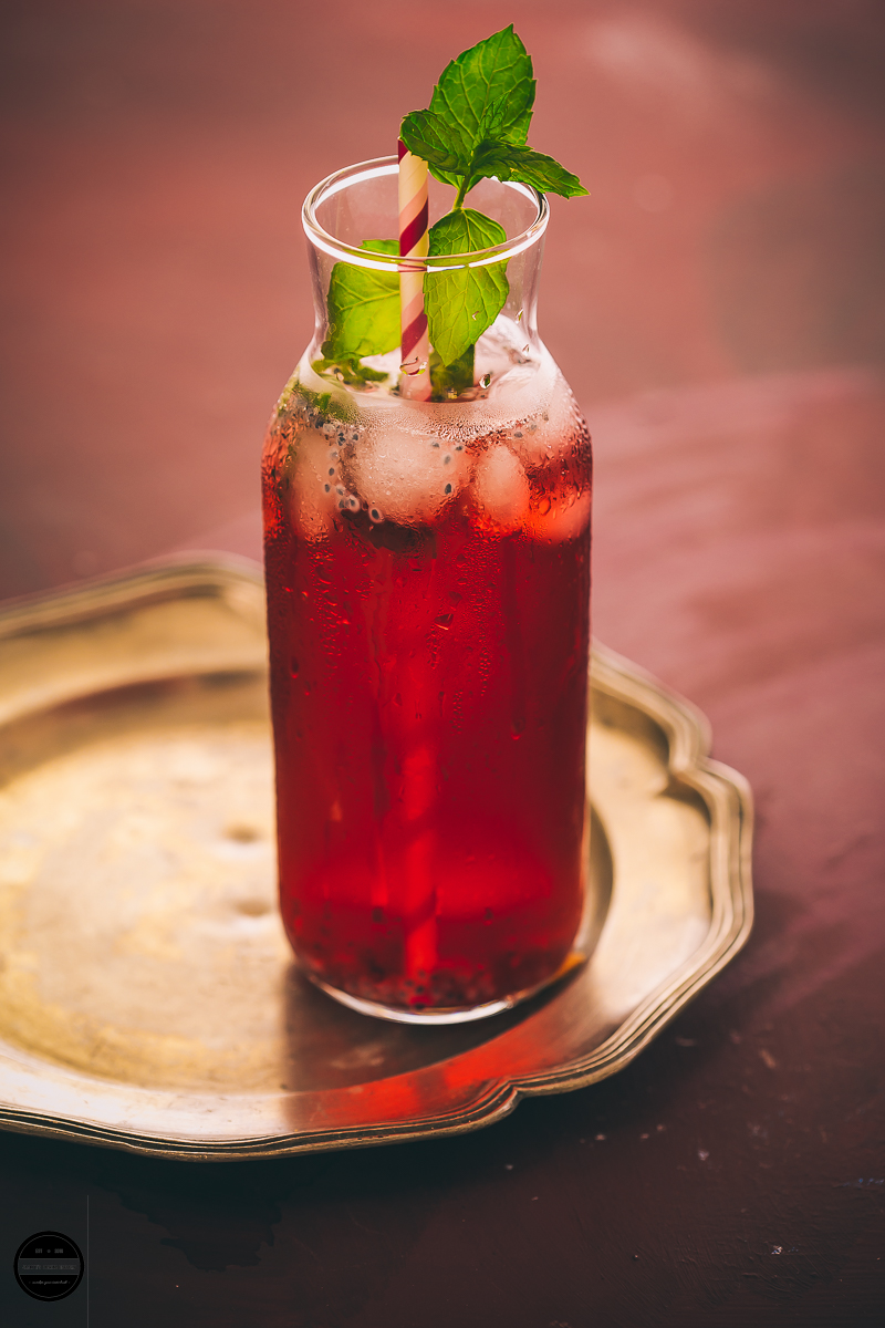 Hibiscus, Rose and Basil is a floral thirst-quenching water-based non-alcoholic drink that keeps you hydrated during scorching summer days. This gorgeous and alluring looking drink makes a perfect drink for any occasion.