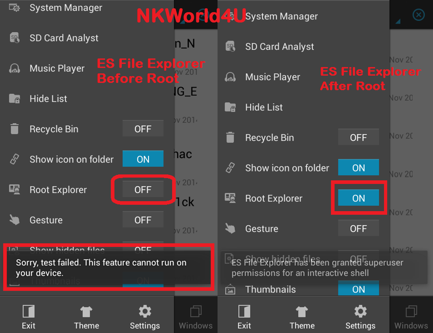 http://nkworld4u.blogspot.in/ es file explorer KingRoot Apk  One Click Root Tool For Almost All Devices