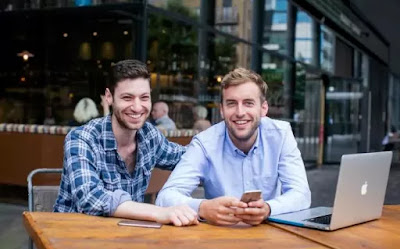 Raffler App Co-Founders