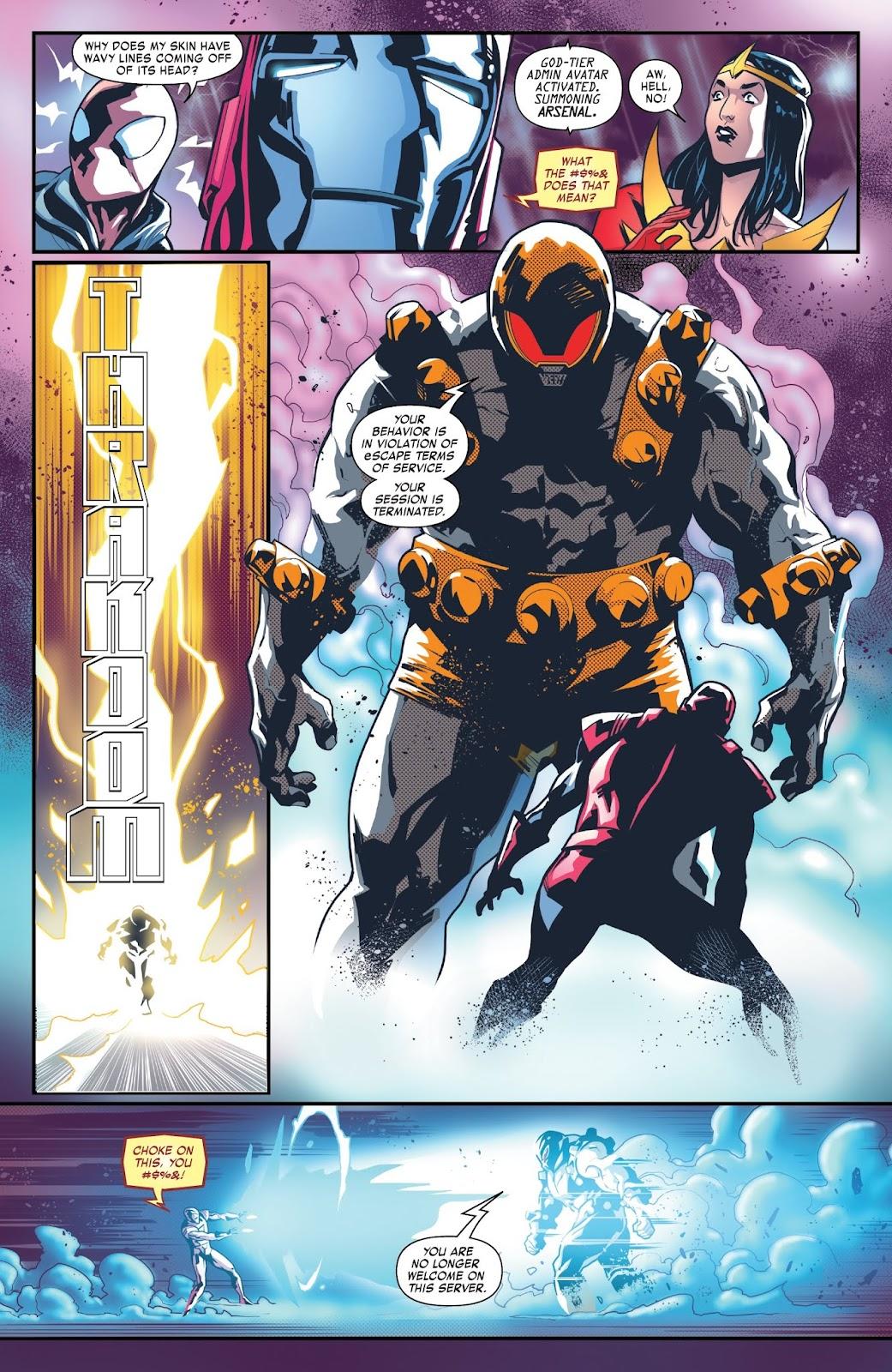 Read online Tony Stark: Iron Man comic -  Issue #6 - 9