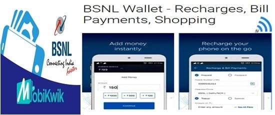 BSNL Wallet Mobikwik Cashback offer for Diwali