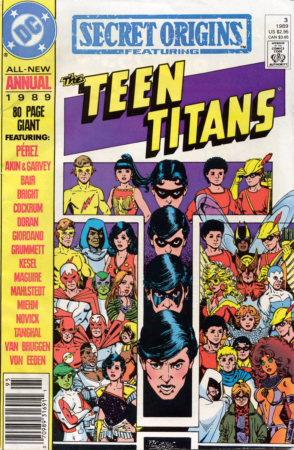 Read online Secret Origins (1986) comic -  Issue # _Annual 3 - 1