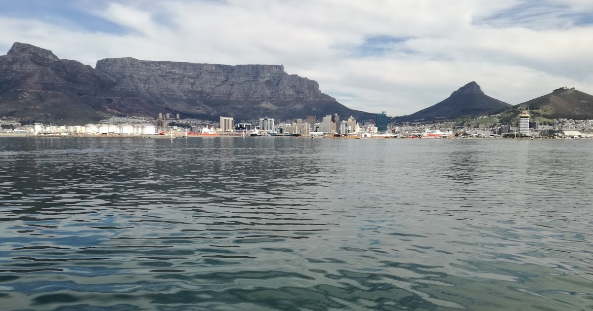 Beautiful Table Mountain at Cape Town, South Africa