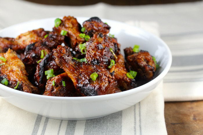 Slow Cooker Sticky Wings, a #wingweek guest post from Karen's Kitchen Stories