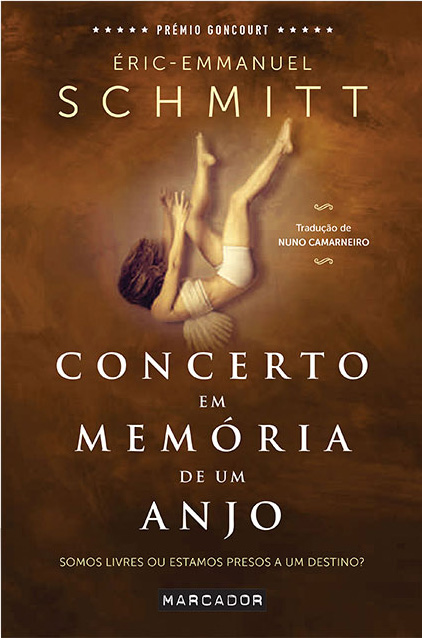 """Concerto em memoria de um anjo"" de Eric Emmanuel Schmitt with one of my fine art self portrait images."