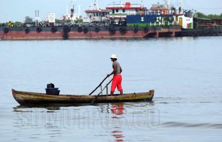 Reklamasi Alur Baru Rusak Mata Pencaharian Nelayan Belawan Medan