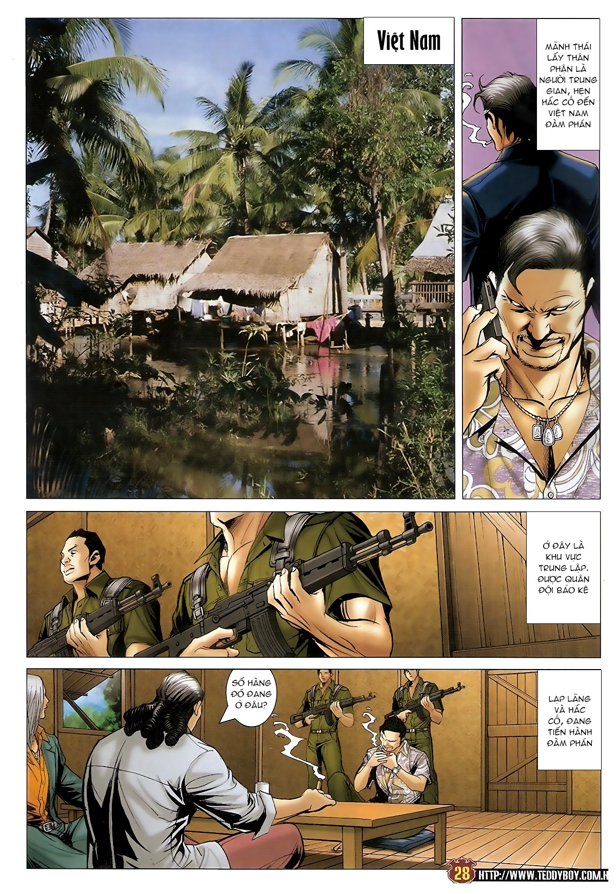Người Trong Giang Hồ - Chapter 1548: Cha con ra trận - Pic 24