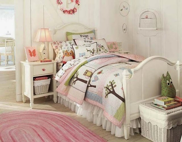 dormitorio decorado niña