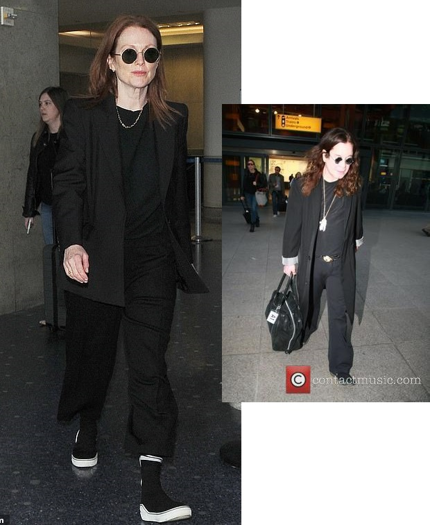 The Reverend Bobby Julianne Moore On A Crazy Plane
