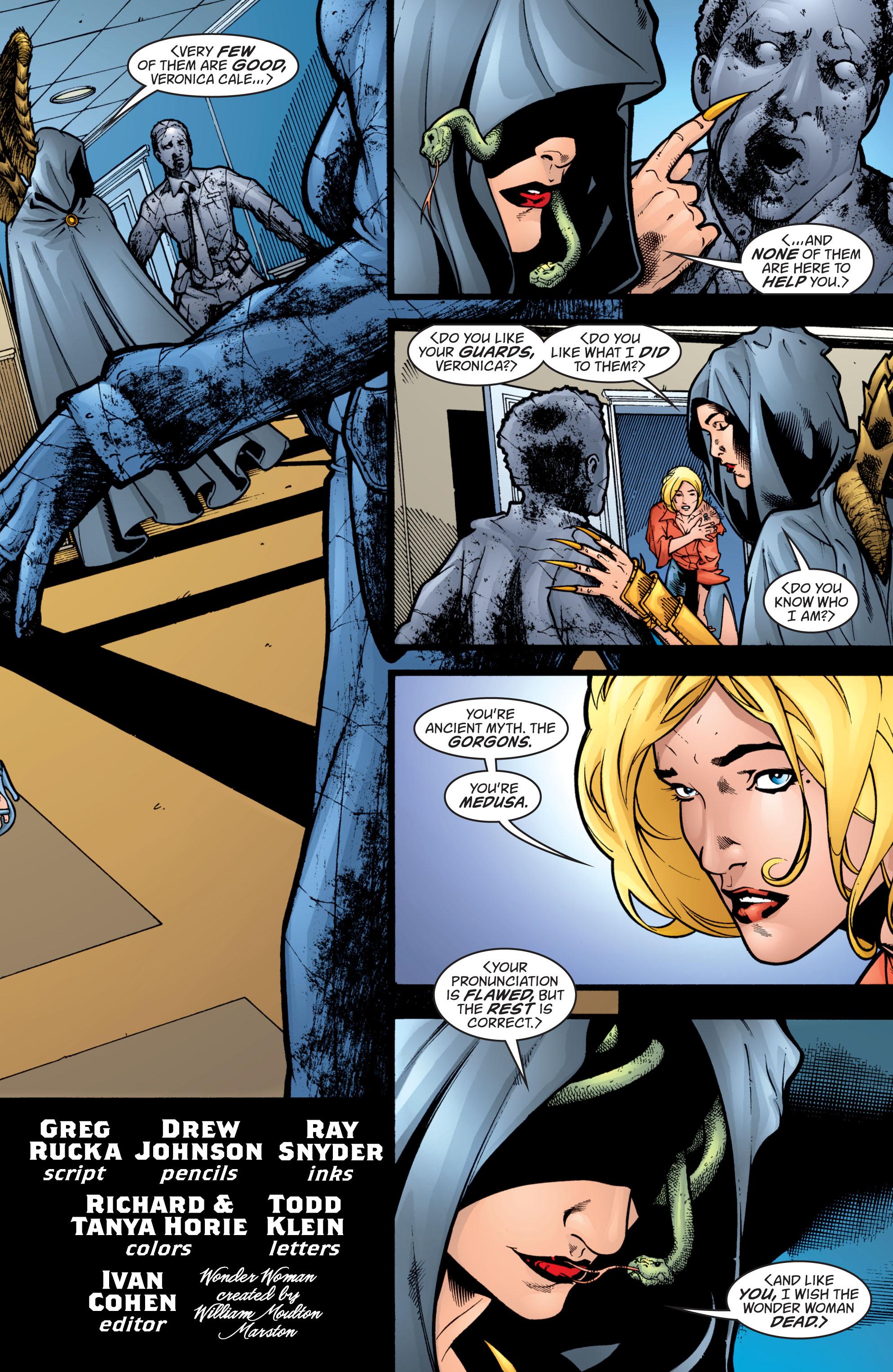 Read online Wonder Woman (1987) comic -  Issue #207 - 6
