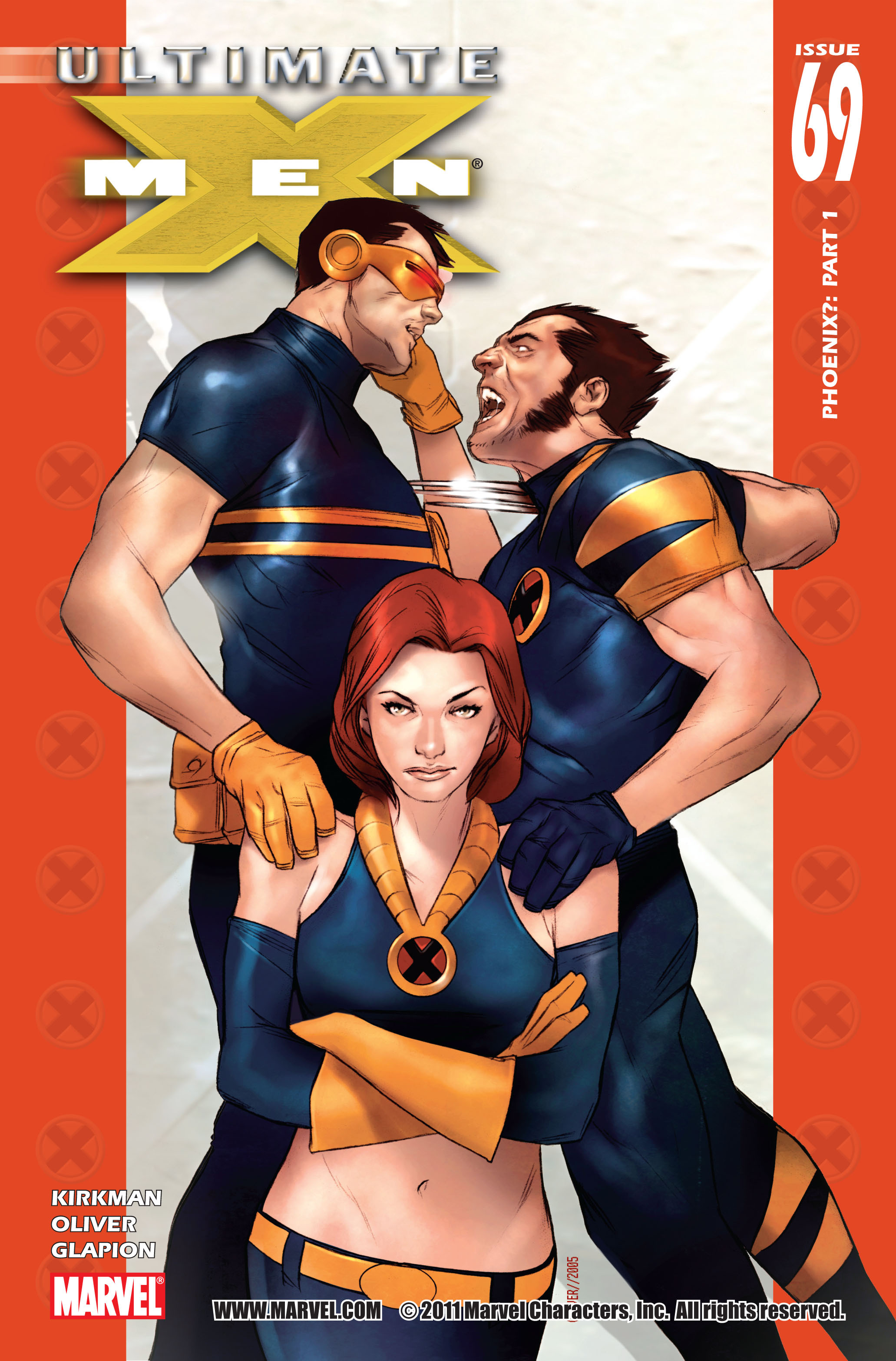 Read online Ultimate X-Men comic -  Issue #69 - 1