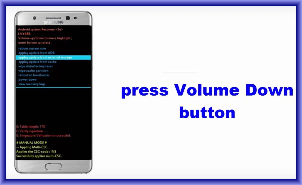 Samsung Galaxy Note 7 Hard Reset