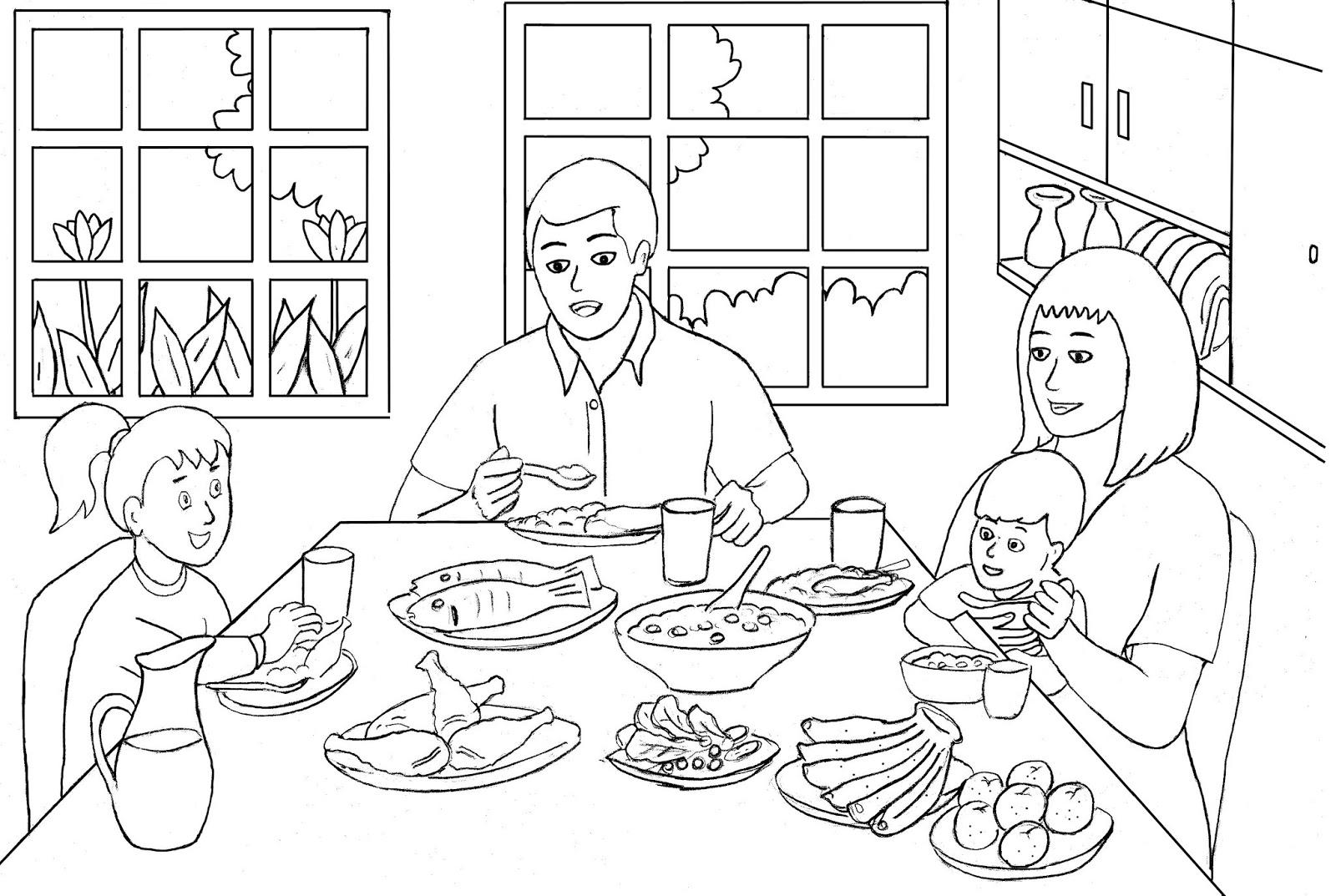 Mewarnai Keluarga Pewarna Q – Cuitan Dokter
