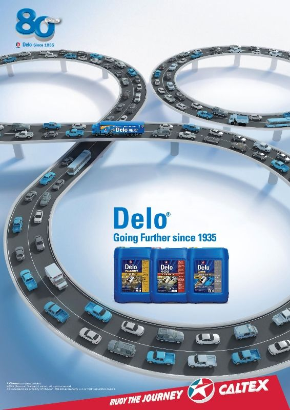 80th year of Delo brand