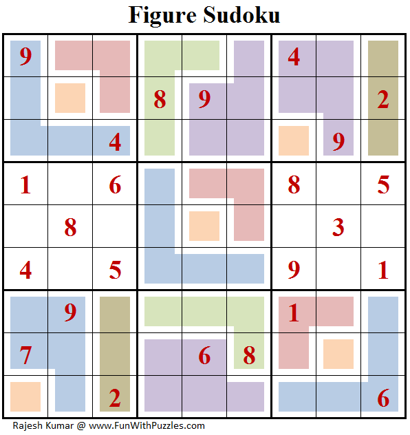Figure Sudoku (Fun With Sudoku #152)