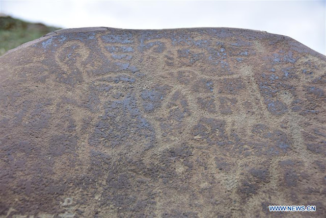 2,000-year-old rock engravings discovered in Tibetan region