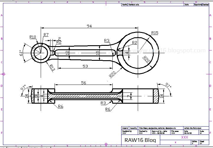 Tutorial Cara Membuat Piston Terlengkap Beserta Ukurannya