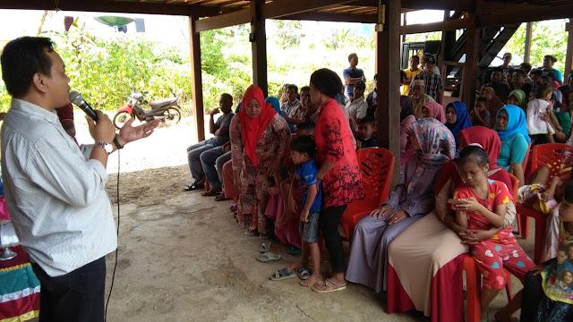 DBR Silaturahmi Relawan di Kecamatan Pitumpanua