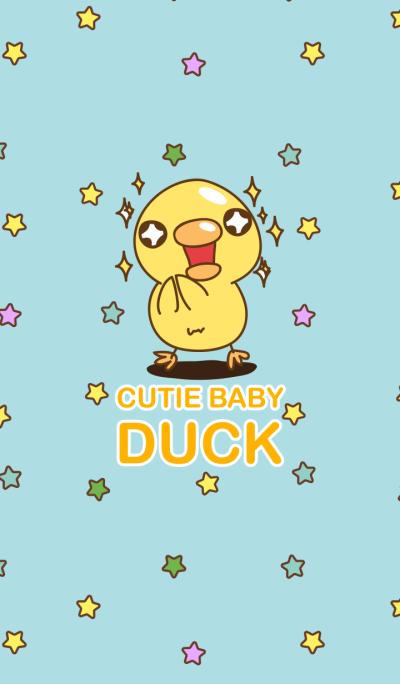 Cutie baby duck