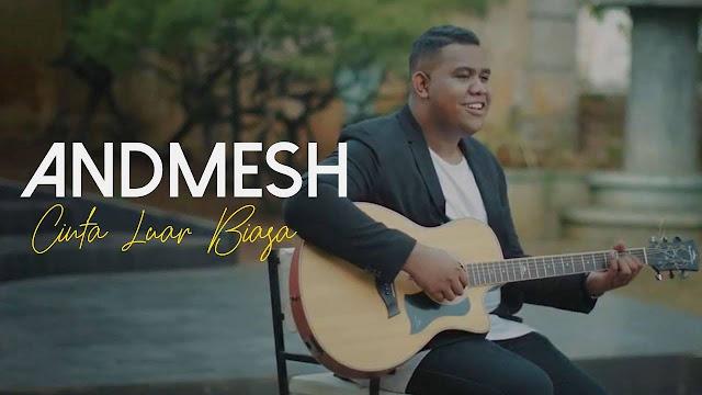 Lirik Lagu Andmesh - Cinta Luar Biasa (Lyrics)
