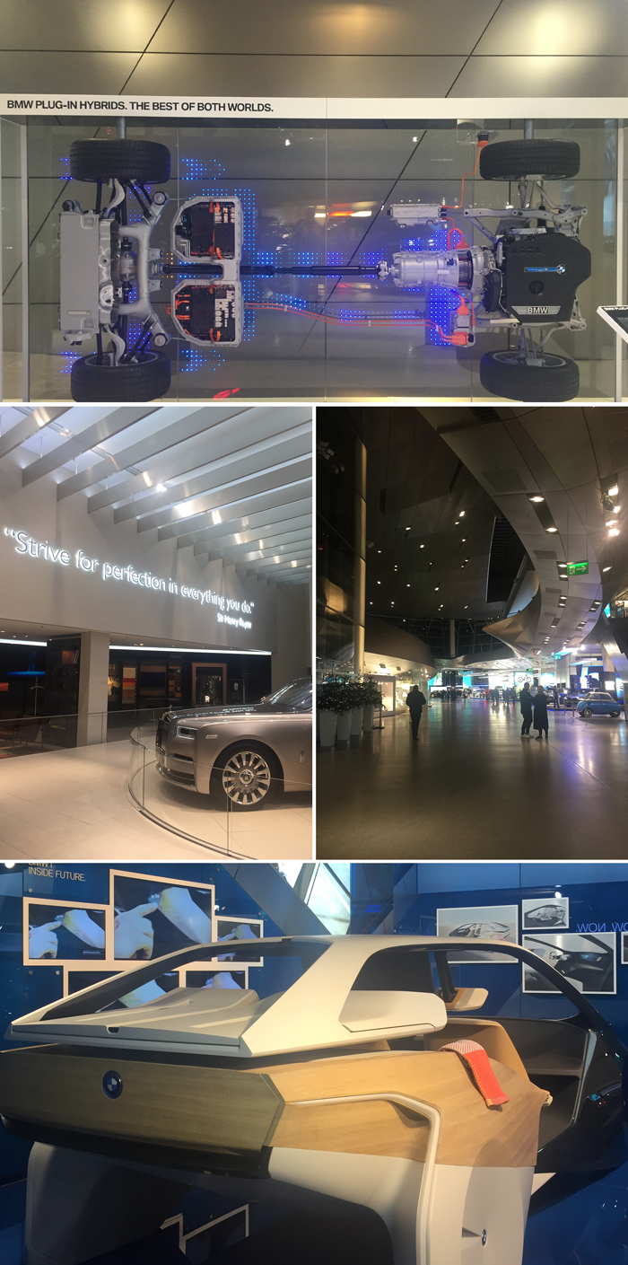 Munich, Bavaria, Germany travel guide diary journal, BMW Welt, cars design museum