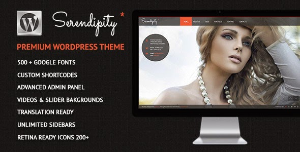 serendipitysingle-page-Theme