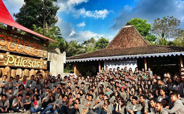 Desa Wisata Pulesari Turi Sleman Paket Biaya Outbond