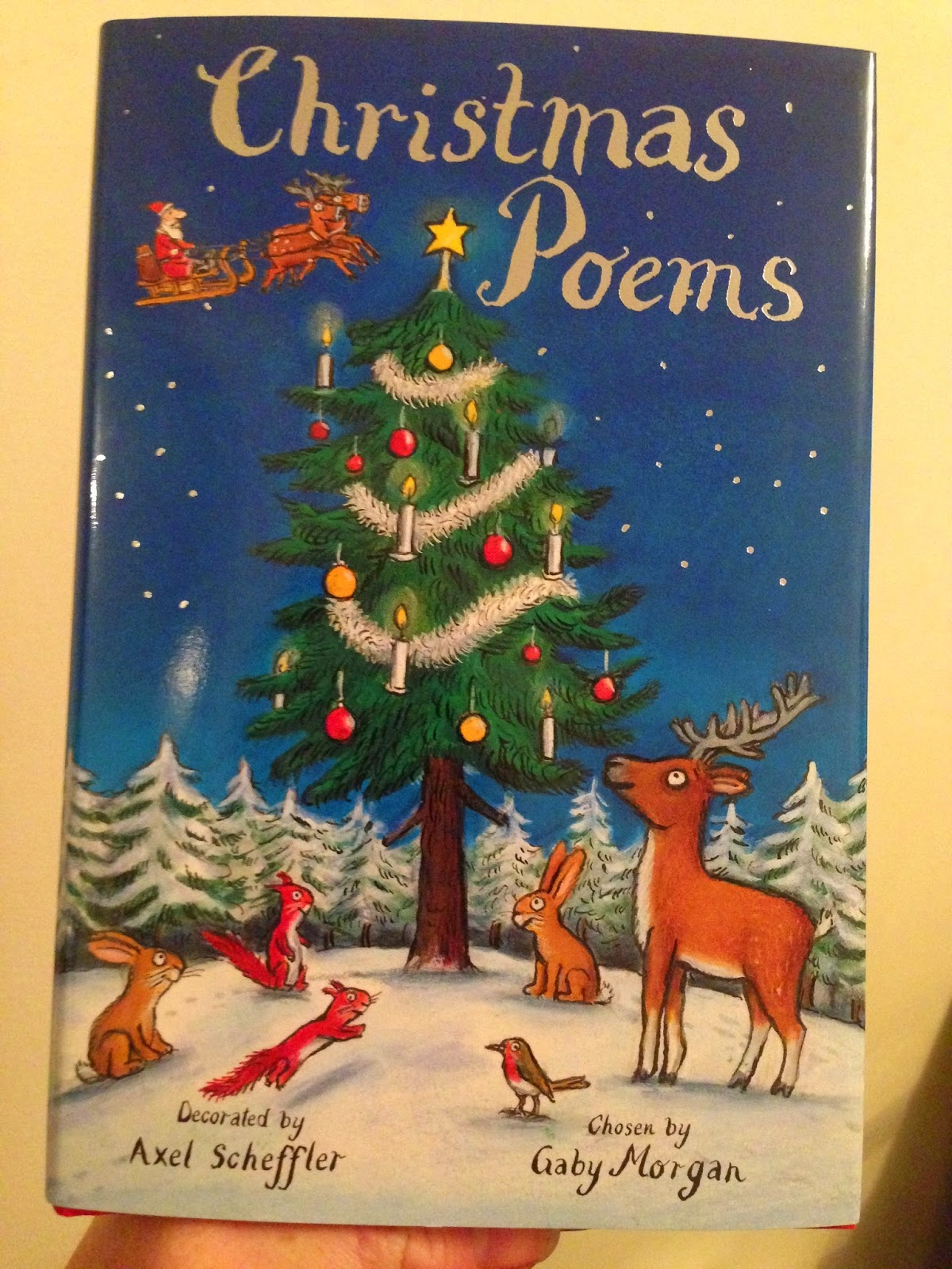 Our Christmas Book Advent tree | Ideas for the Best Children's Books to Buy this Christmas - christmas poems
