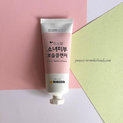 Wangskin Moist Pure Skin Foam Cleanser