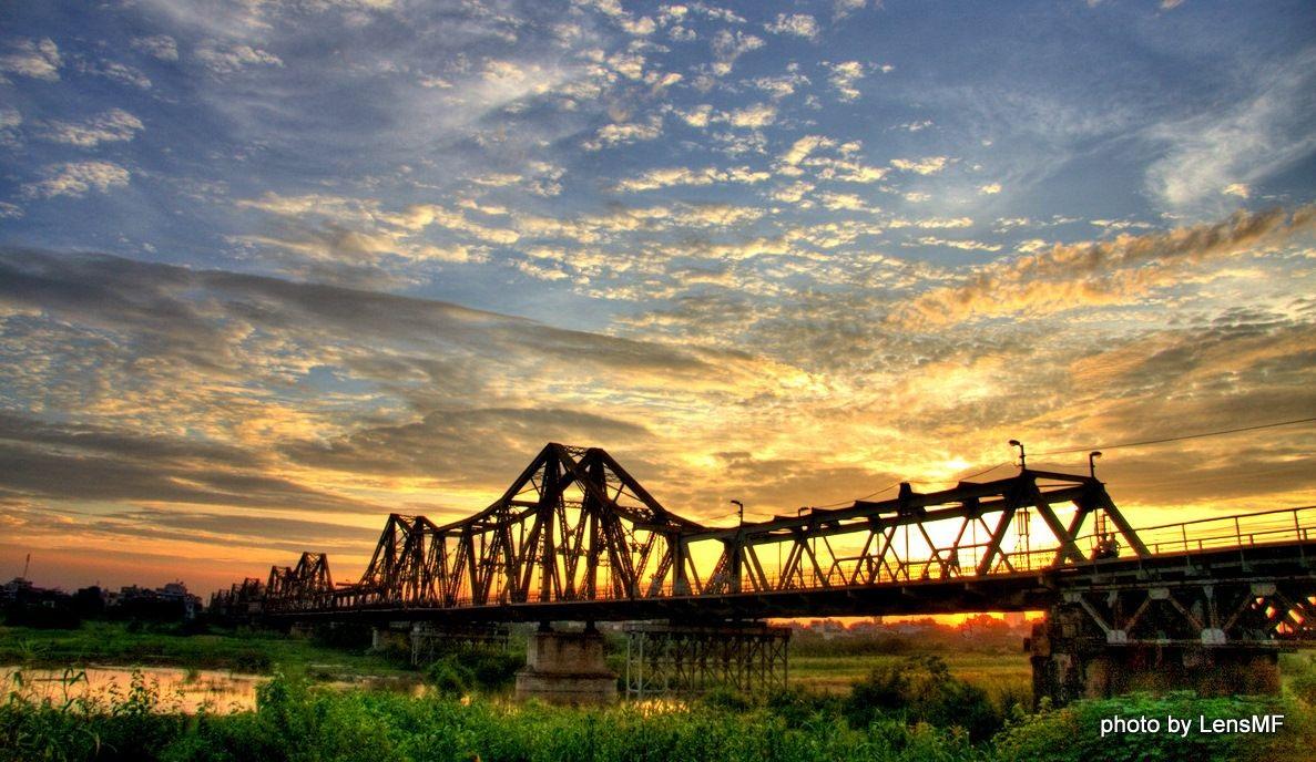 Long Biên là quận đáng sống hàng đầu của Hà Nội.