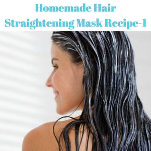 Homemade Hair Straightening Mask Recipe-1
