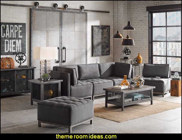 City living urban style - Modern Industrial - Industrial urban loft decorating ideas