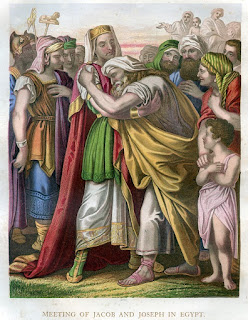 Meeting of Jacob and Joseph in Egypt