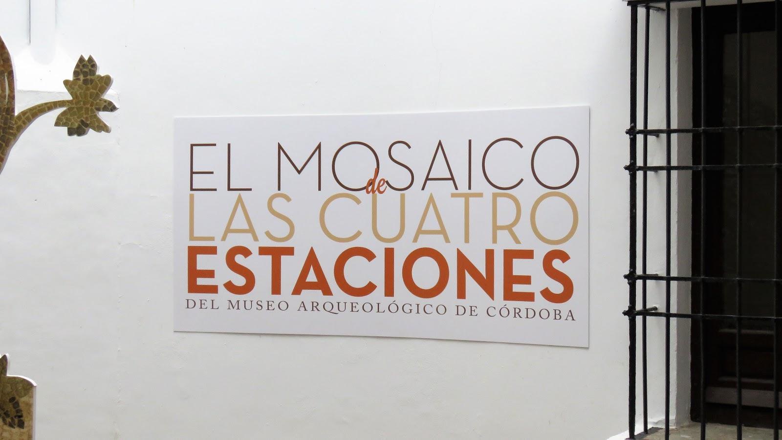 notas cordobesas: MOSAICO DE LAS CUATRO ESTACIONES, EXPOSICIÓN EN EL ...