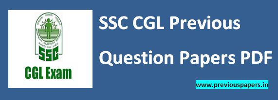 SSC CGL Previous Papers Hindi